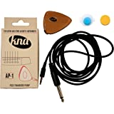 KNA AP-1 Portable Piezo Pickup for Guitar and Other Acoustic Instruments