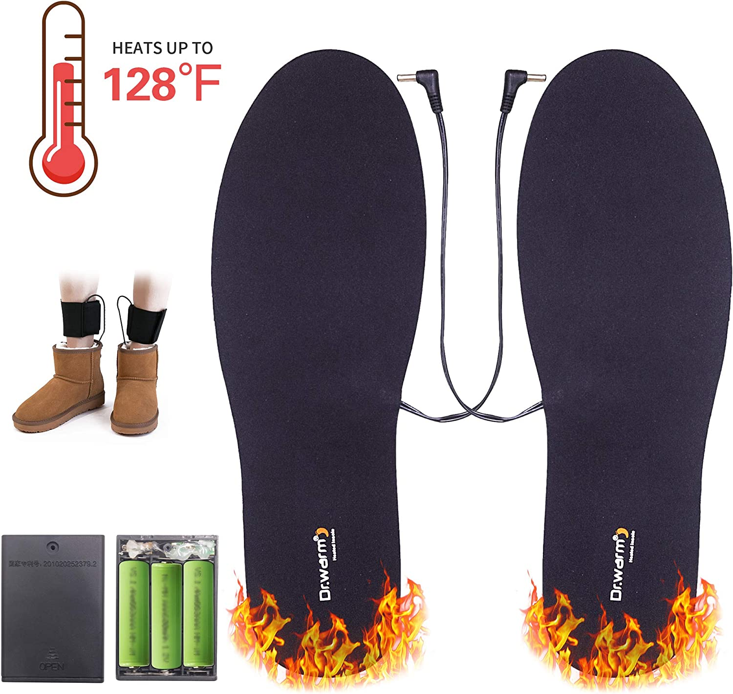Warm Heated Shoe Insoles