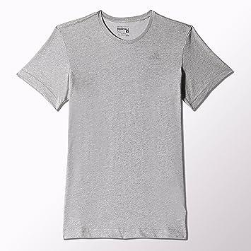 adidas ESS Tee T-Shirt de Sport à Manches Courtes S Gris  Amazon.fr ... d11e08a98f0