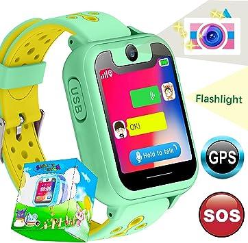 Smartwatch para Niños, Relojes Inteligentes para Niños y Niñas con ...