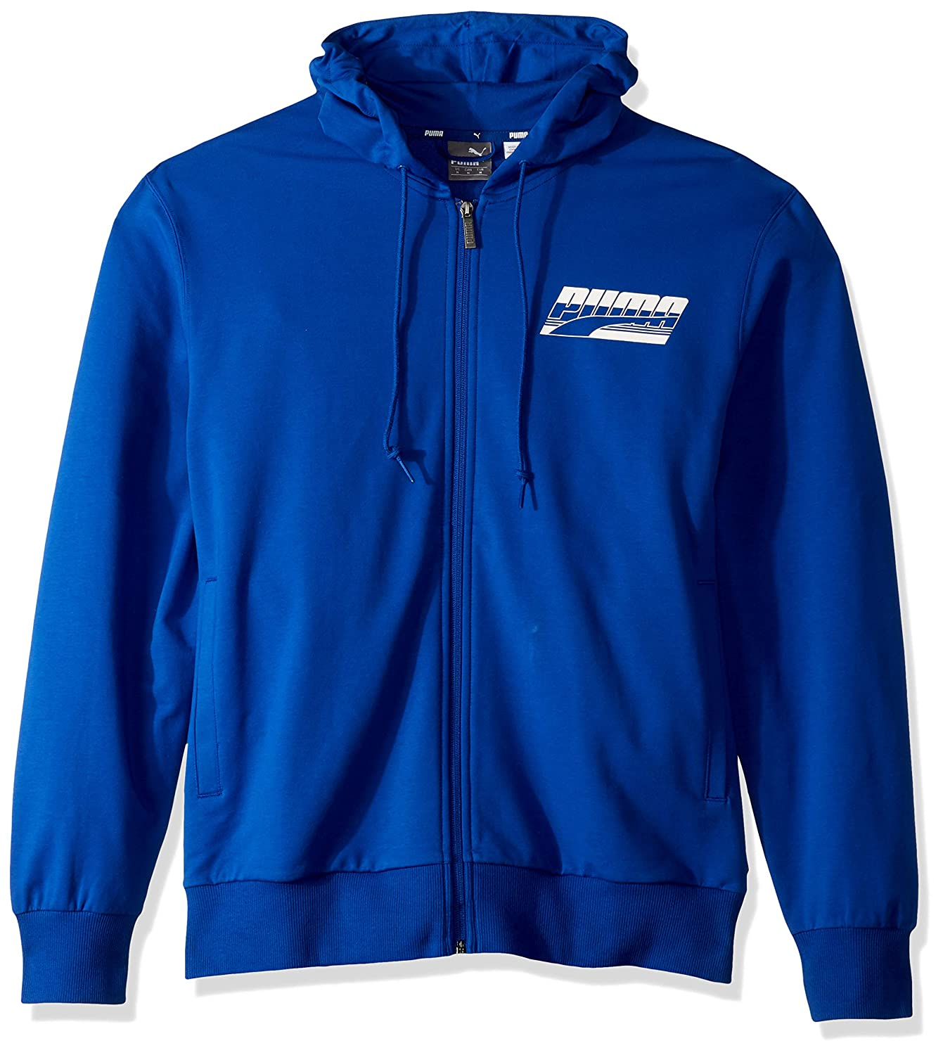 PUMA Mens Rebel Hooded French Terry Jacket