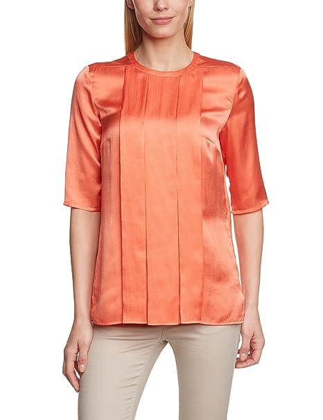 Michalsky Blusa con cuello redondo para mujer, talla 40, color naranja 202: Amazon.es: Ropa y accesorios