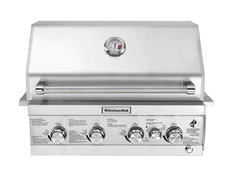 Amazon.com : KitchenAid 740-0780 Built-in Propane Gas Grill : Garden &  Outdoor