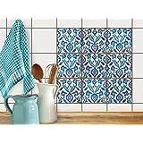Piastrelle pellicola adesive mosaico bagno sticker for Piastrelle autoadesive