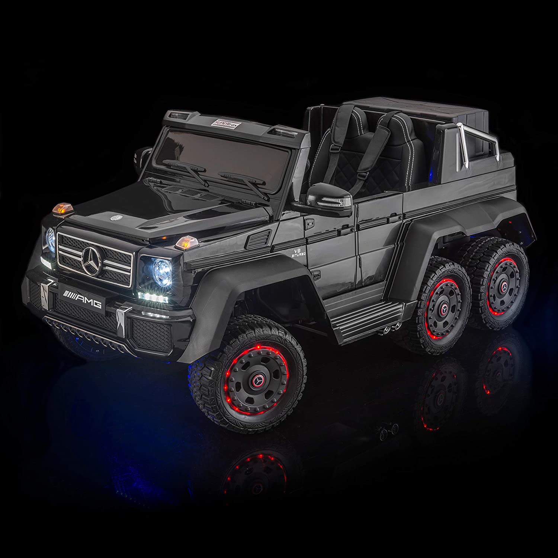 Amazon.com: SUPERtrax Licensed Mercedes Benz G63 6x6, 6WD ...