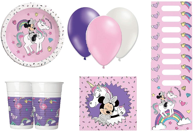 Minnie cumpleaños - Cumpleaños Minnie unicornio 8 Personas ...