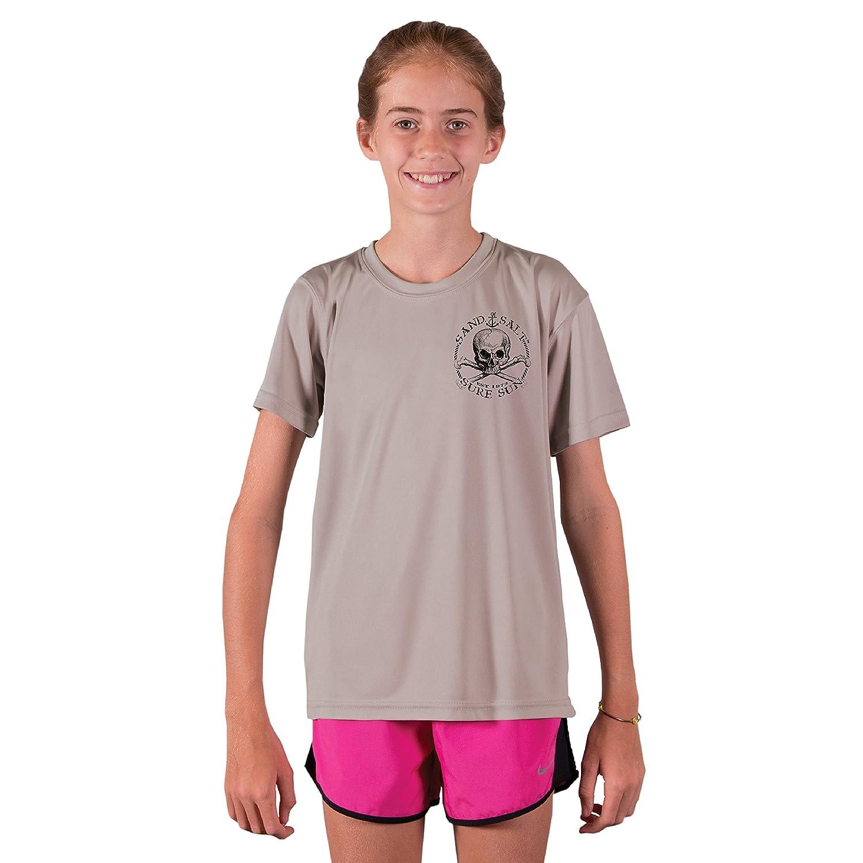Redhead Mermaid Youth UPF 50 Sun Protection Short Sleeve T-Shirt SAND.SALT.SURF.SUN