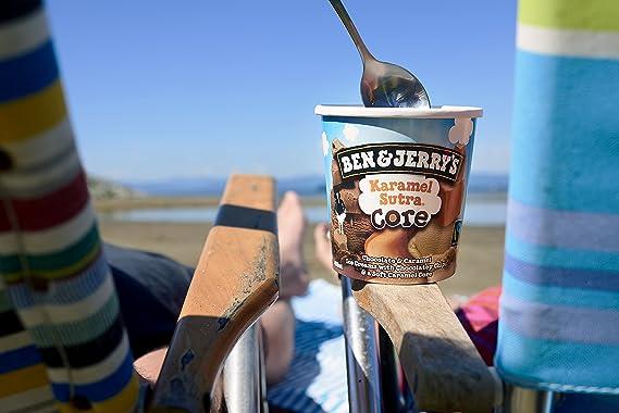 Ben & Jerrys Karamel Sutra Helado Tarrina - 500 ml: Amazon.es: Alimentación y bebidas