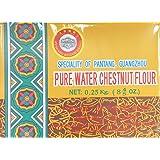 0.25 Kg Pure Water Chestnut Flour by Fenkang Bridge Brand, Pack of 1