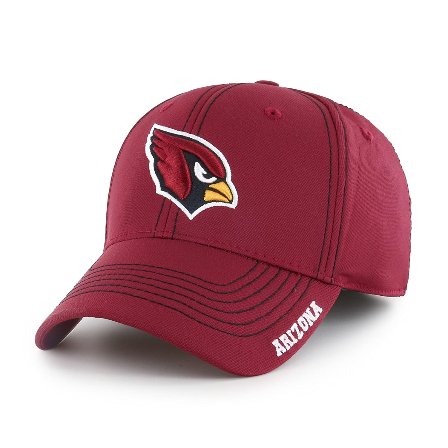7e4a1c50dff9d Amazon.com   OTS NFL Adult Men s NFL Start Line Center Stretch Fit Hat    Sports   Outdoors