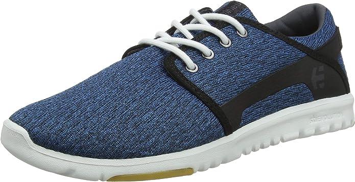 Etnies Scout Sneakers Herren Blau/Schwarz/Weiß (Blue/Black/White)