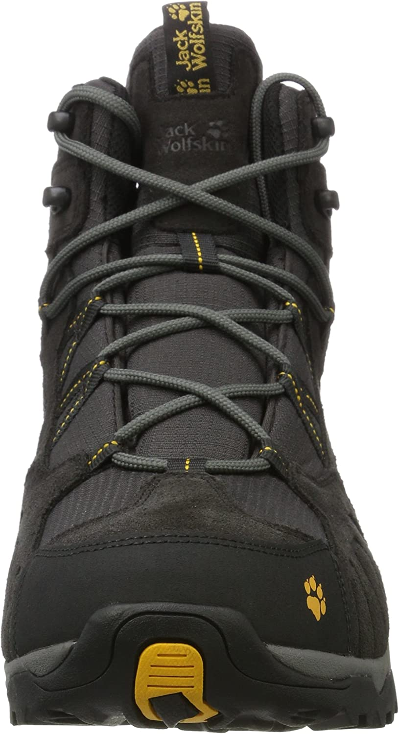Jack Wolfskin Men/'s Multifunctional Shoes Vojo Hike 2 Low M Black Yellow