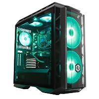 CyberpowerPC Ultra Luxe 1080Ti RGB Gaming PC - Intel Core i7-8700K, Nvidia GTX 1080Ti 11GB, 32GB RAM, Z370 Chipset, 480GB SSD, 2TB HDD, 600W 80+ PSU, Wifi, Liquid Cooling, Windows 10, CM H500P