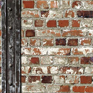 Muriva Papier Peint Motif Briques Et Poutre