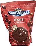 Ghirardelli Chocolate Dark Candy Malting Wafers, 30 Ounce
