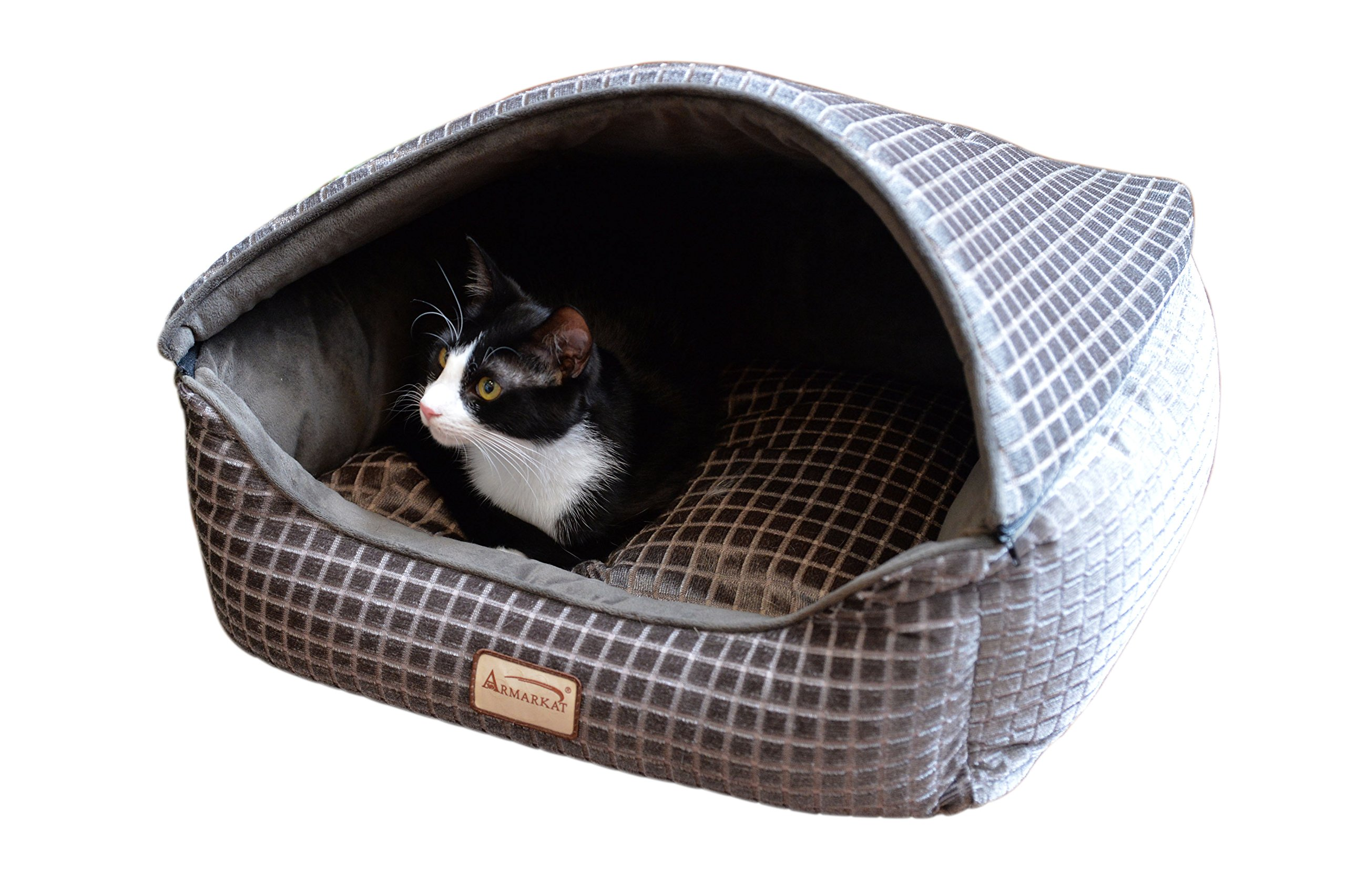 Armarkat 24'' Bronze & Silver 2016 Cat Bed