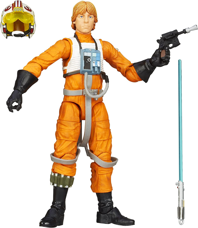 "Luke Skywalker X-Wing ORANGE 6/"" The Black Series STAR WARS #01 Hasbro MIB"