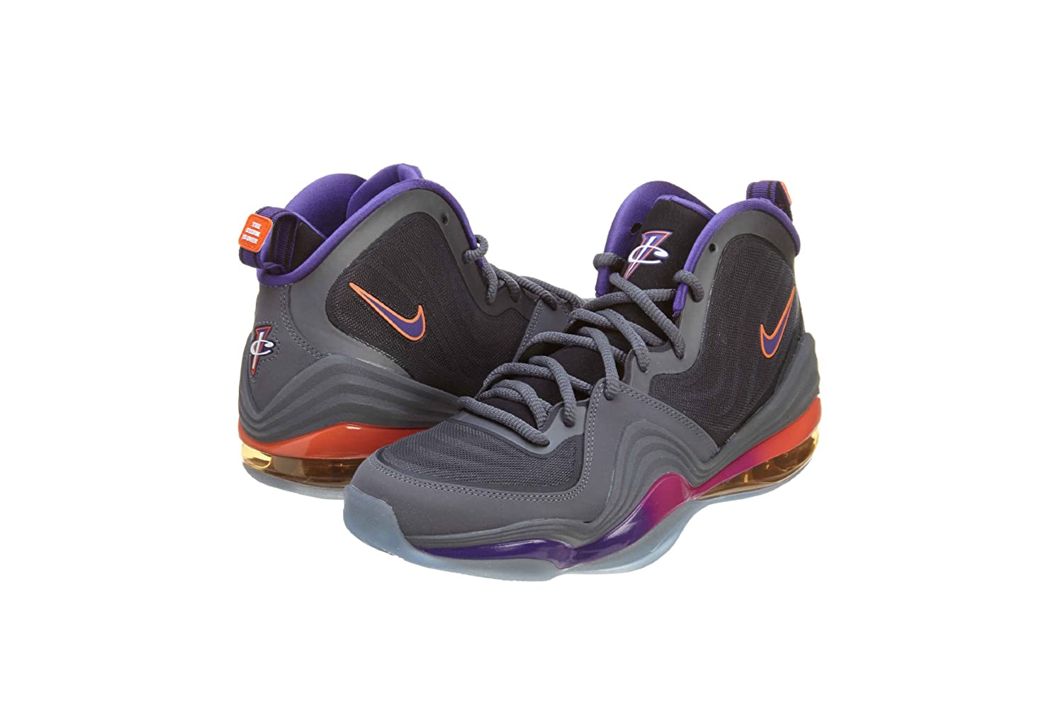 new concept dfb9f 35035 Nike Air Penny V 5 Phoenix Suns 537331-070 Black Grey Purple Men sz 9  Buy  Online at Low Prices in India - Amazon.in