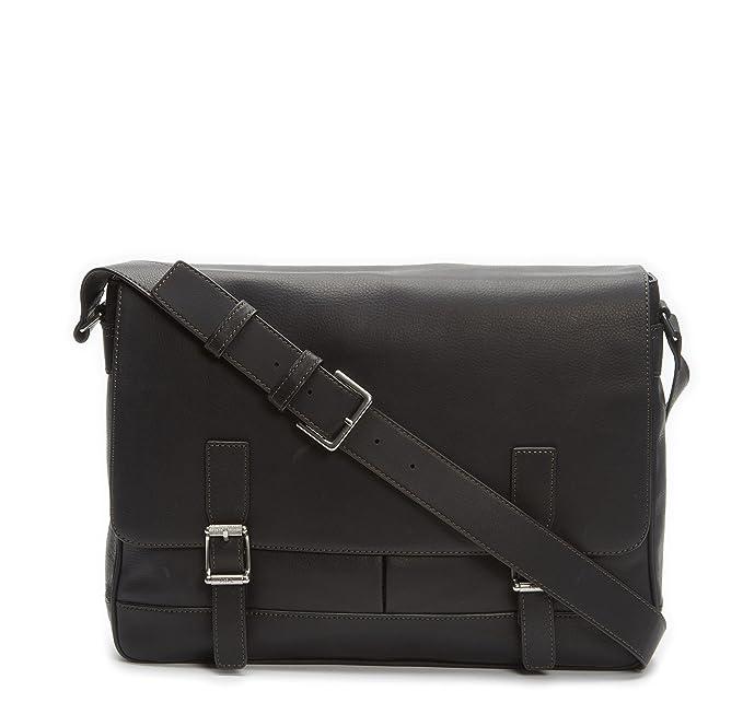 b1cc7b77240a FRYE Mens Oliver Messenger Messenger Bags Black Size: One Size ...
