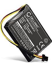 Cellonic® Batteria Premium Compatibile con Tomtom Go 500 (2013) Go 510 (2013) Go 600 One 140 One 140S One 140S US Start 50, FMB0932008731 P2 6027A0089521 VF6D VF6S 950mAh accu Ricambio Sostituzione
