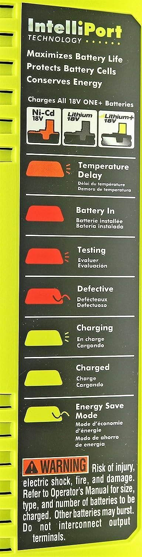 Ryobi P135 18V One 6 Port Lithium Ion Battery Supercharger 18V ...