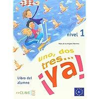 1, 2, 3 YA 1-Libro del alumno 1 (Spanish Edition)