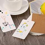 Pangda 250 Pieces Card Kraft Paper Study Cards