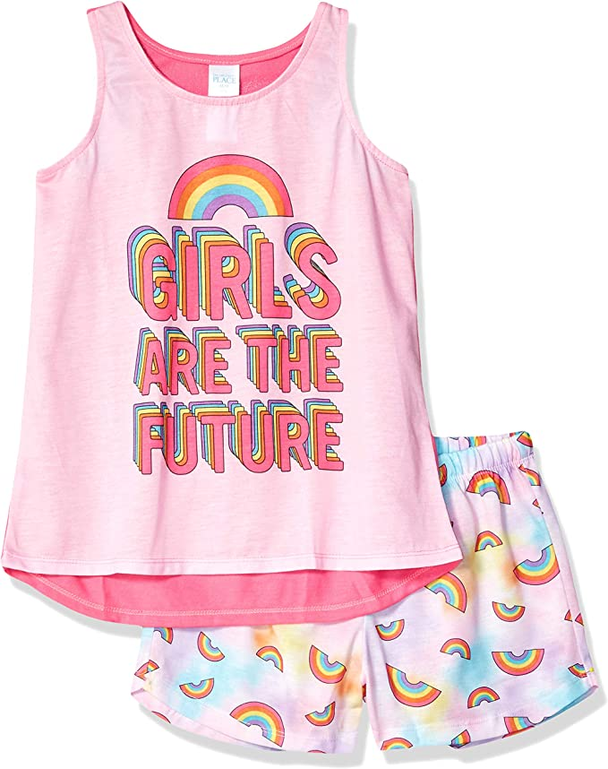 The Childrens Place Big Girls Novelty Waistband Shorts