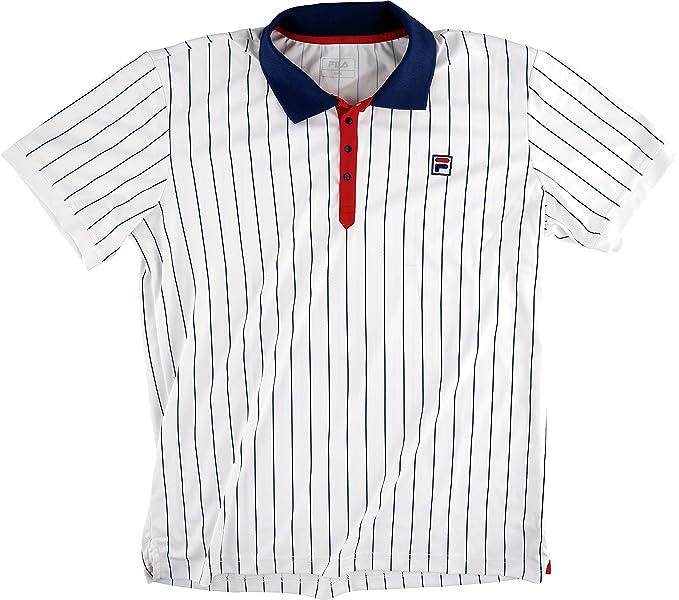 Fila Stripe1 - Camiseta Tipo Polo para Hombre, diseño a Rayas ...