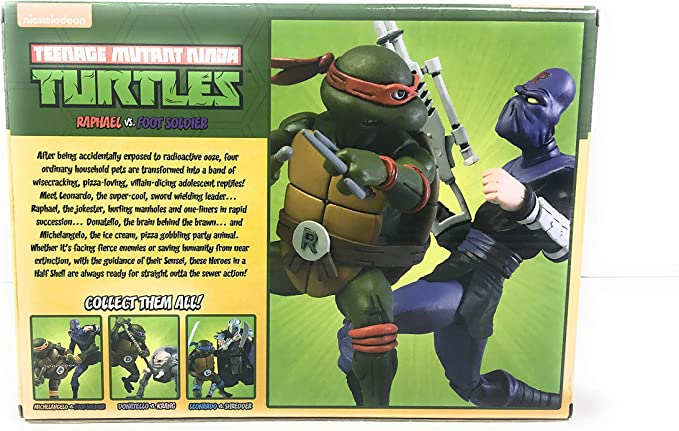 Foot Soldier Armi da Mischia Action figure TMTN  Ninja Turtles 18 cm NECA 54112