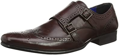 Red Tape Men Tempo Bordo Formal Shoes