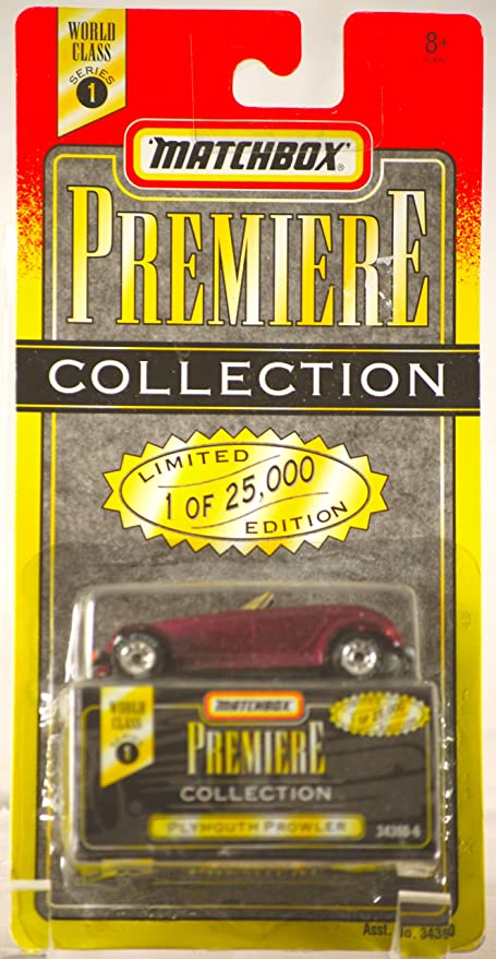 PREMIERE COLLECTION SERIES 1 1995 MATCHBOX PLYMOUTH PROWLER