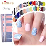 HIGH'S Exclusive Design Series Manicure Nail Stickers Nail Wraps