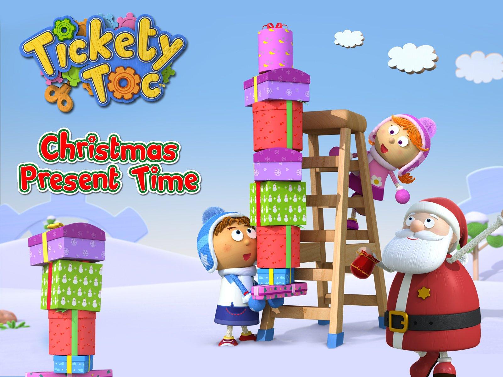 Amazon.com: Tickety Toc Christmas Present Time: Zachary Gordon ...