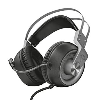 Trust GXT 4374 Ruptor - Auriculares Gaming, Unidades Acústicas de 50 mm, Control del