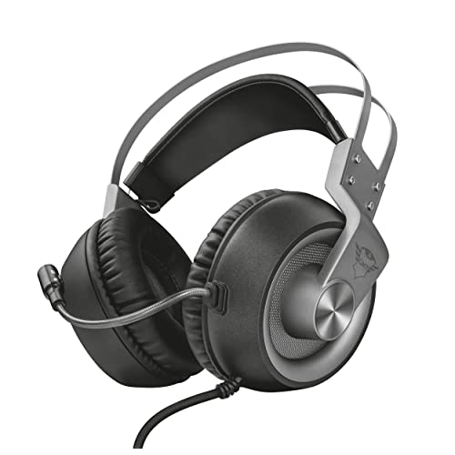 Trust Gaming GXT 4374 Ruptor Gaming Headset for PC, Laptop, PS4 and Xbox One - Silver