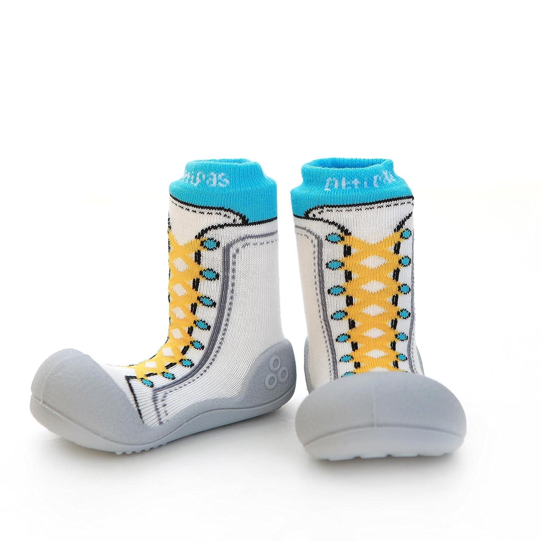 Bleu bleu 19 Chaussures premiers pas pour b/éb/é gar/çon Attipas