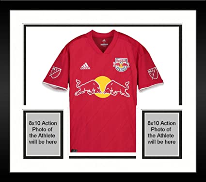 bee16e77d00 Framed Sean Davis New York Red Bulls Autographed Match-Used Red #27 Jersey  vs