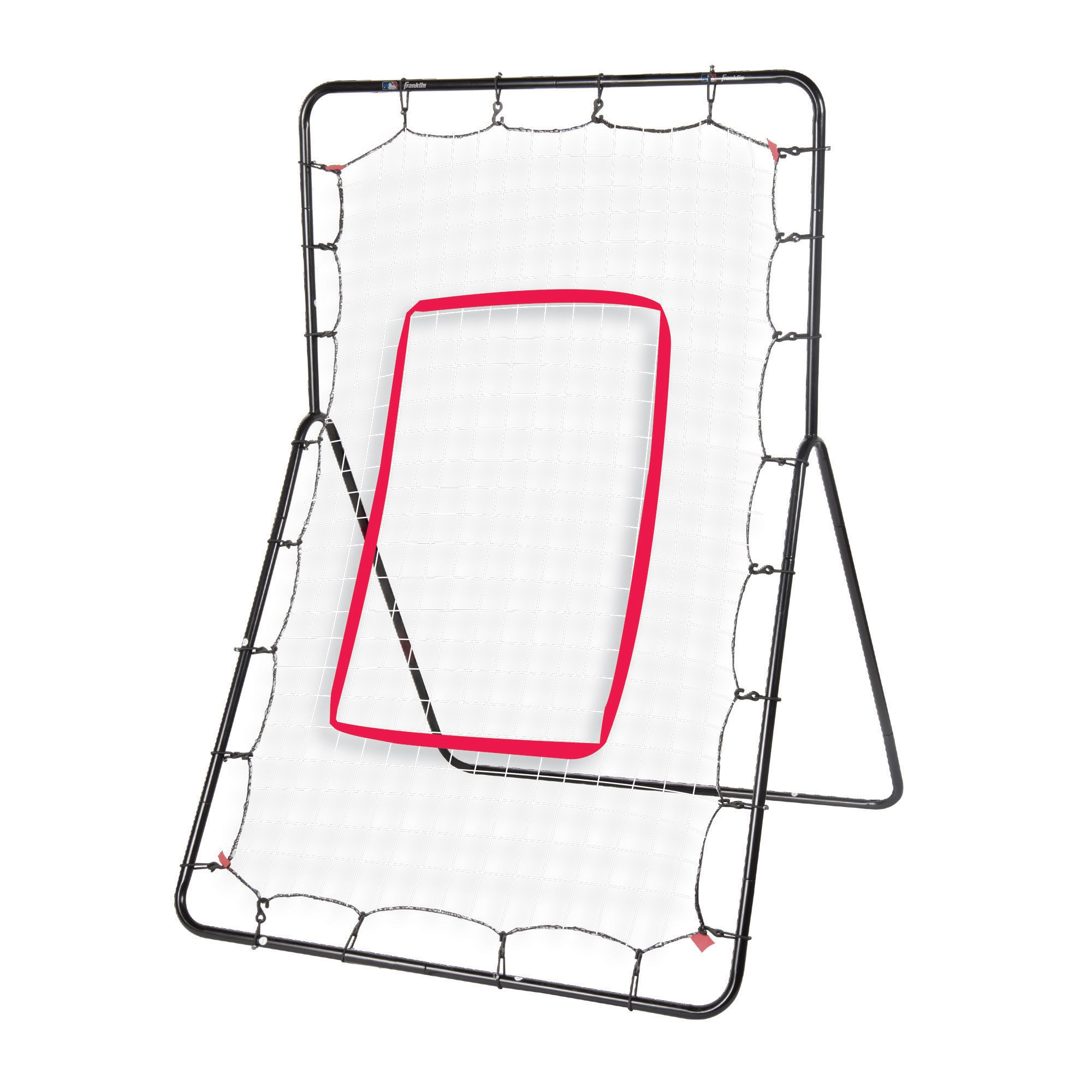 Franklin Sports Pitch Return - Baseball Rebounder and Fielding Trainer - Youth Baseball Training Equipment - Heavy Duty All-Weather Steel Construction - 55 x 36 Inch by Franklin Sports