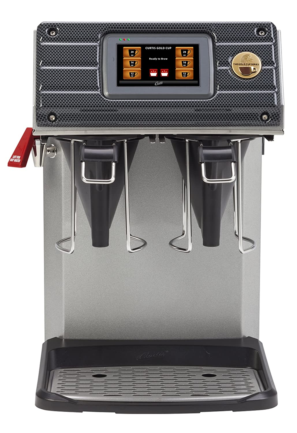 Wilbur Curtis Gold Cup Single Cup Brewer - Commercial Coffee Brewer with Digital Control Module and Self-Diagnostic System for Gourmet Results - CGC (Each) Wilbur Curtis Co. Inc.