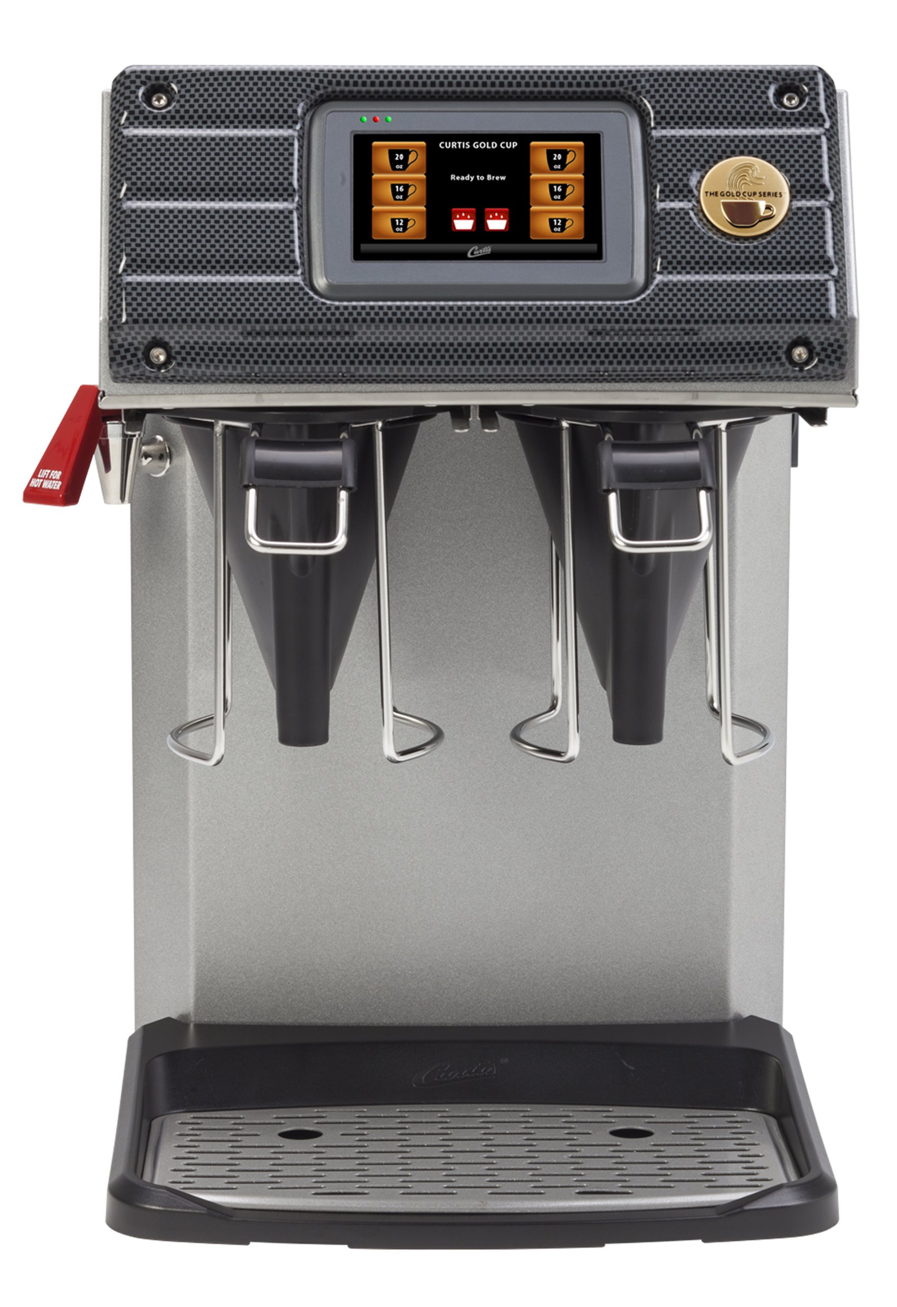 Wilbur Curtis Gold Cup Single Cup Brewer - Commercial Coffee Brewer with Digital Control Module and Self-Diagnostic System for Gourmet Results - CGC (Each)