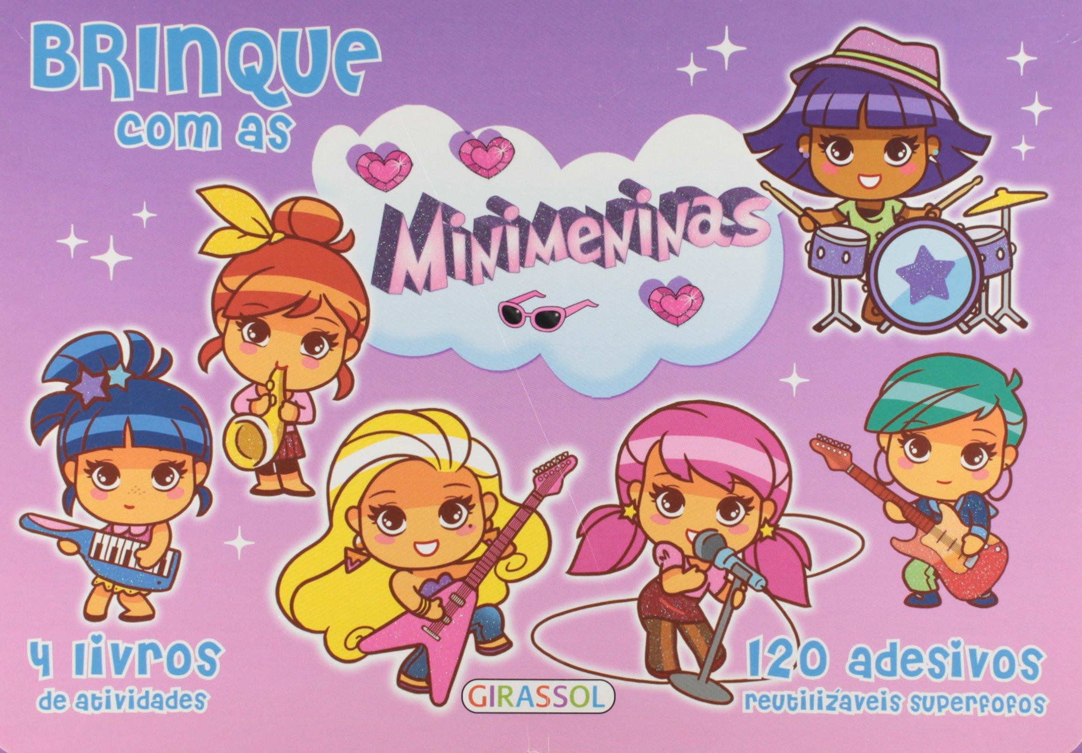 Maleta - Brinque Com As Minimeninas: Vários Autores: 9788539412884: Amazon.com: Books