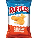 Ruffles Cheddar and Sour Cream Potato Chips, 184.2g