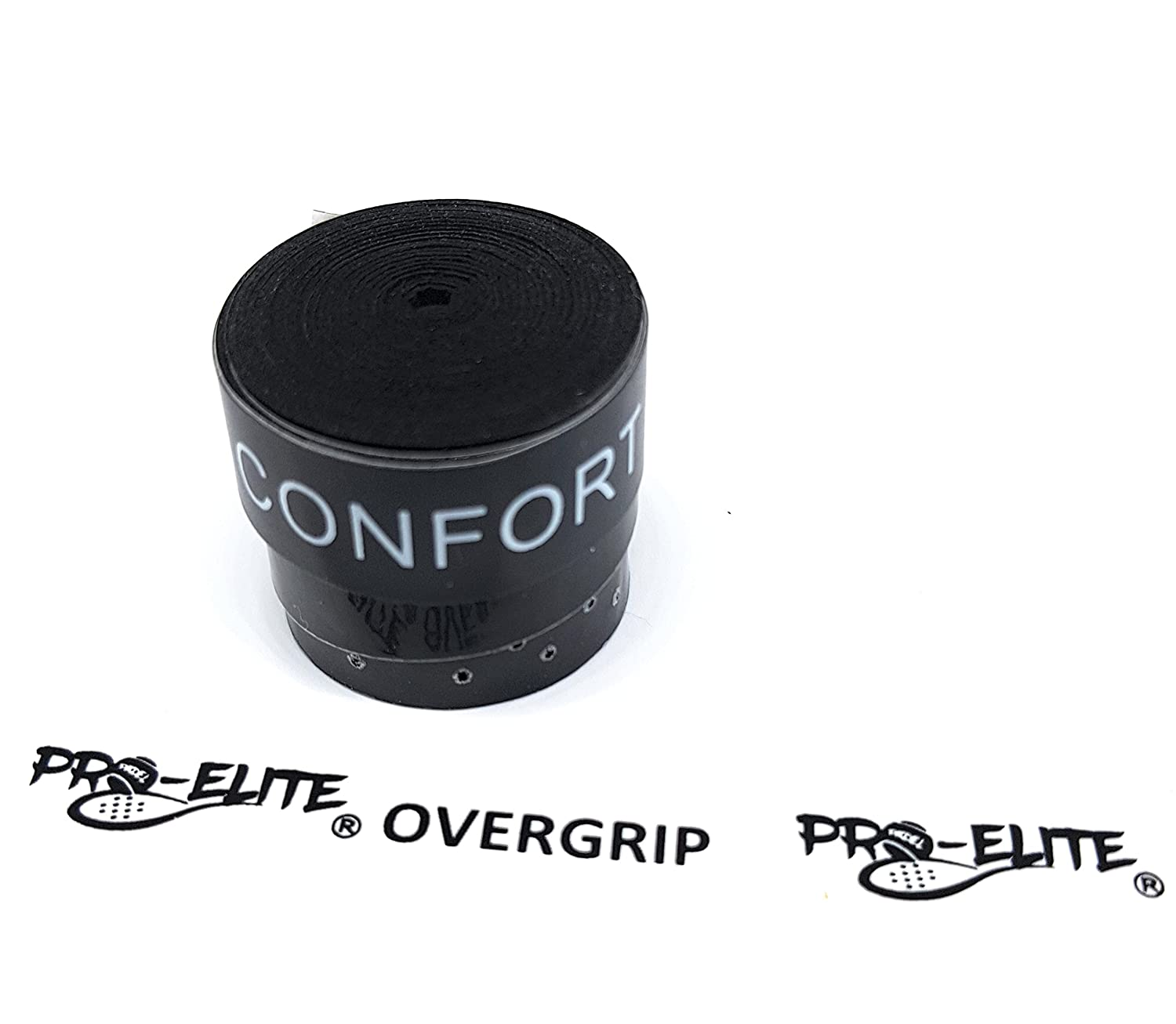 overgrip Pro Elite Confort Perforado Negro: Amazon.es ...