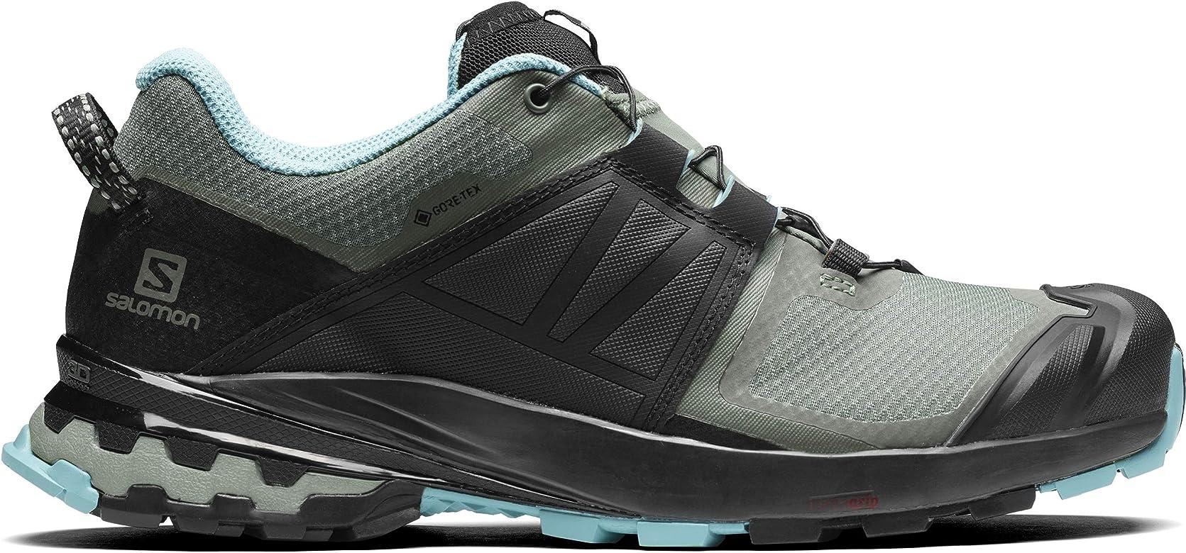 Salomon XA Wild GTX, Zapatillas para Correr de Diferentes Deportes para Mujer, Balsam Green/Black/Meadowbrook, 37 1/3 EU: Amazon.es: Zapatos y complementos