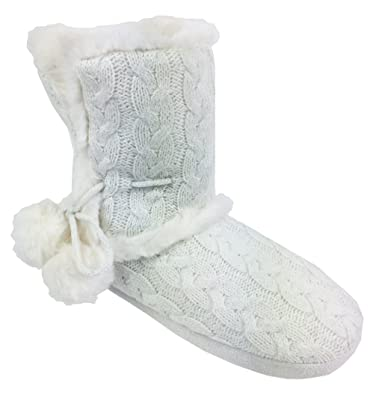 Chinese Laundry Knit Pom-pom Slipper BGqjVeyIaE