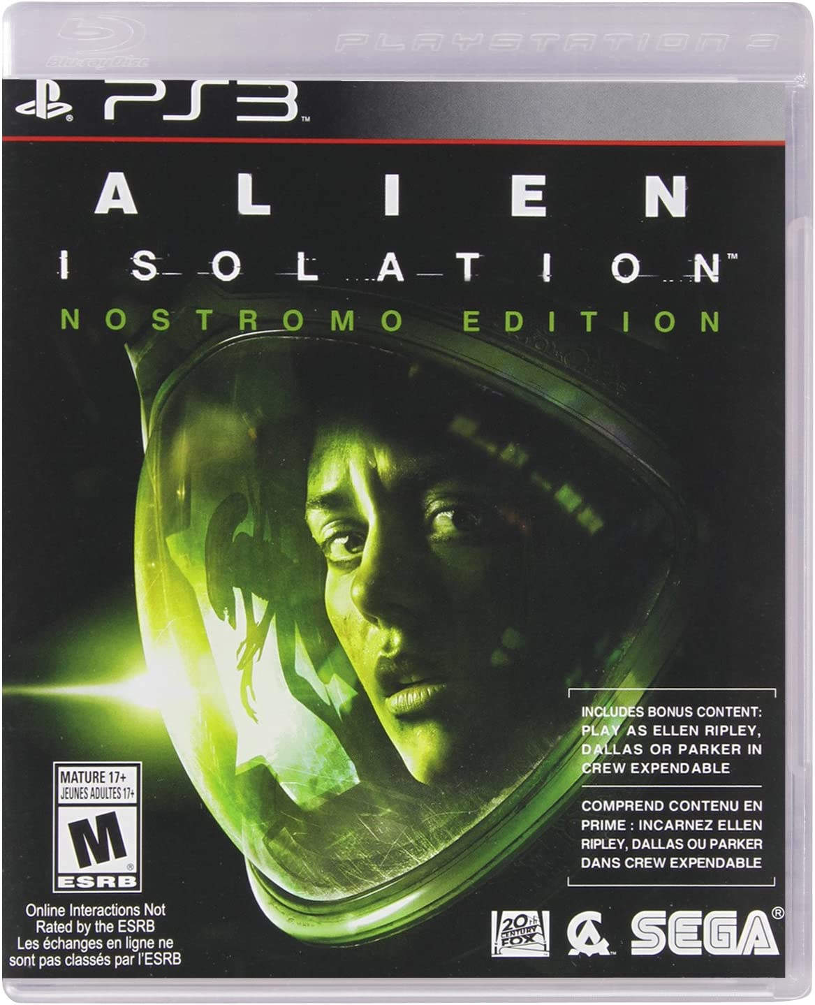 Amazon.com: Sega Alien: Isolation - Xbox 360 Standard Edition: Sega ...