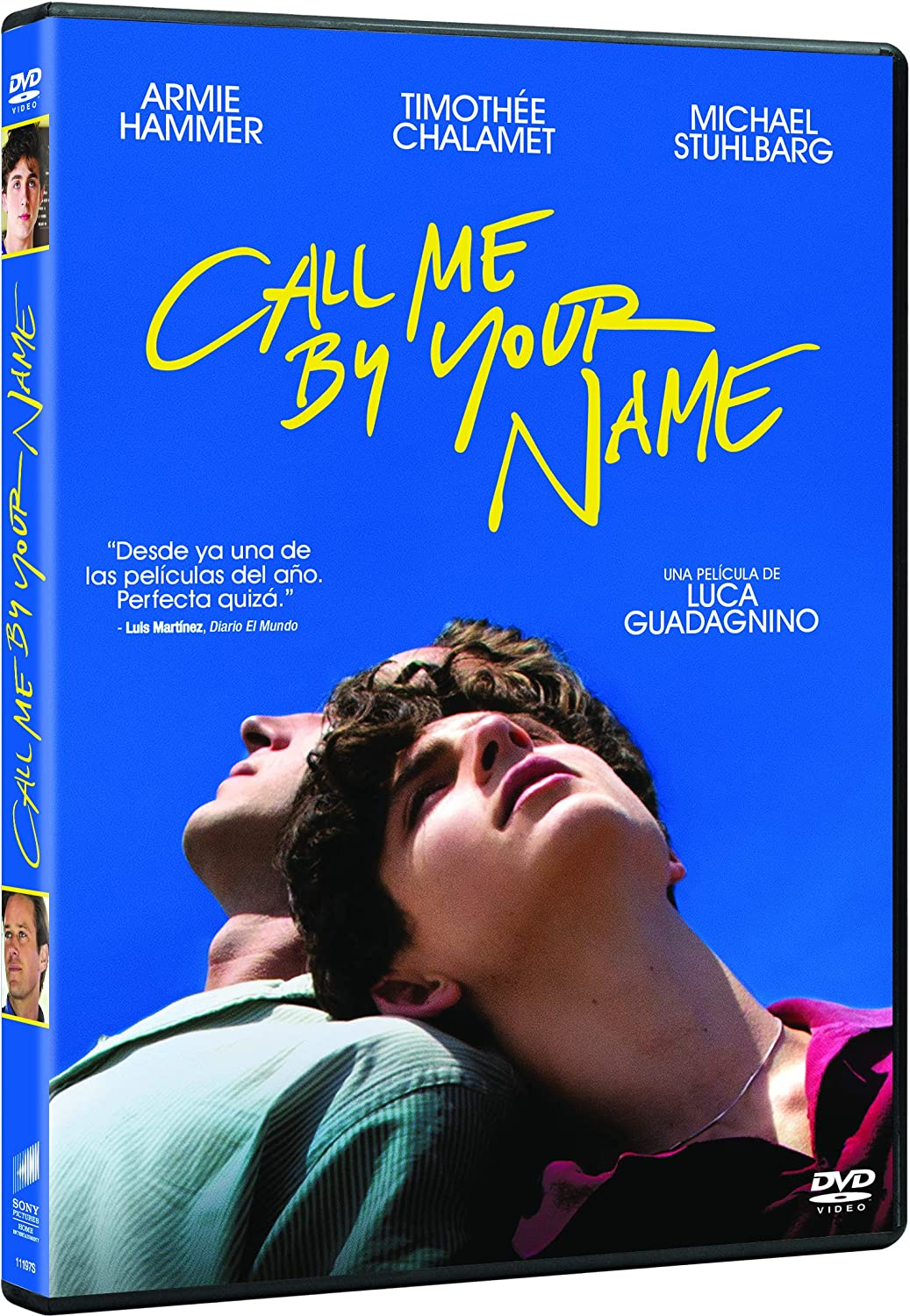 Call Me By Your Name Spanish Release Amazon Co Uk Armie Hammer Timothee Chalamet Dvd Blu Ray