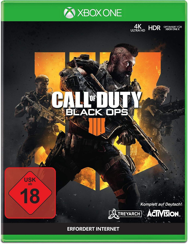 Call of Duty Black Ops 4 - Standard Edition - Xbox One [Importación alemana]: Amazon.es: Videojuegos