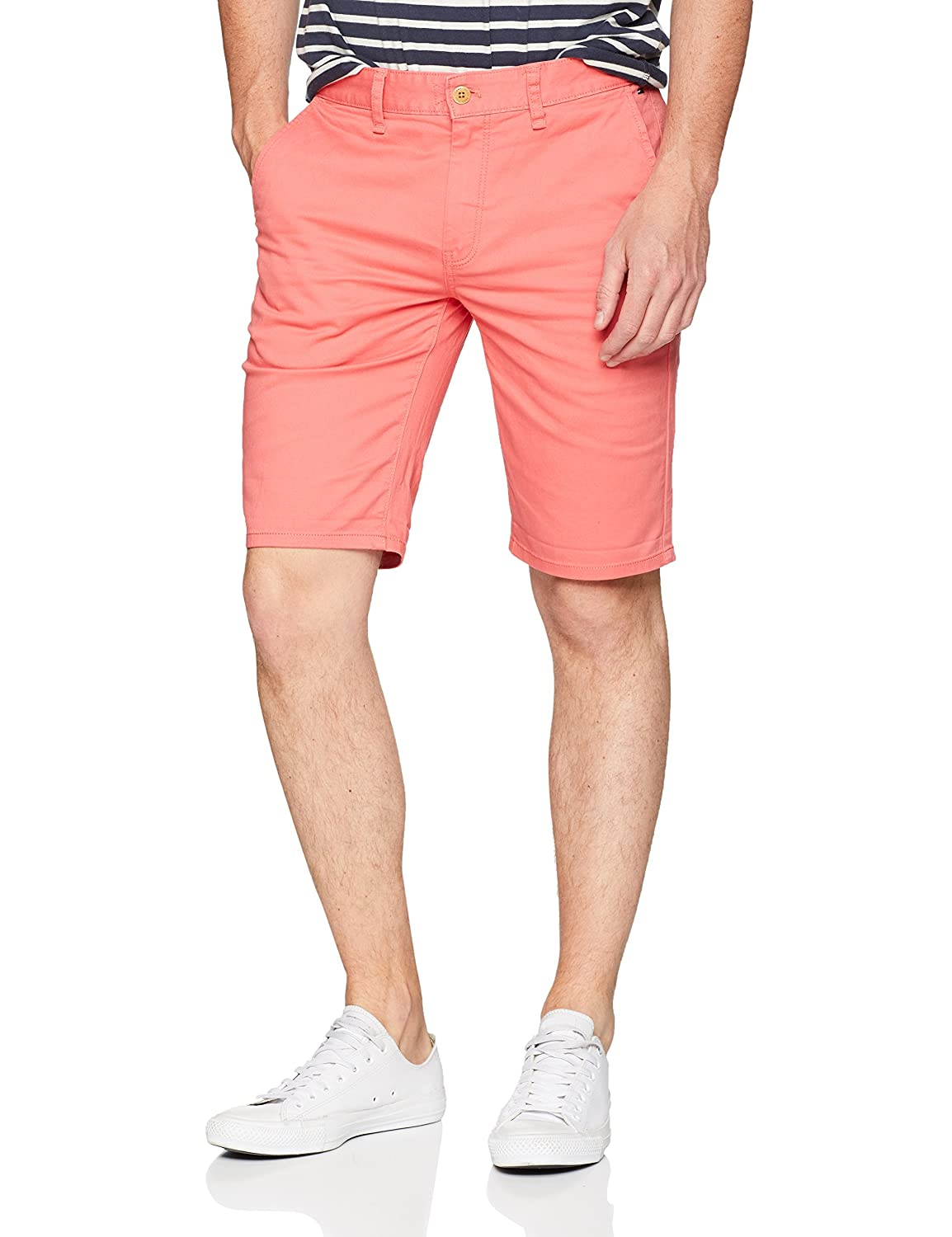 Tommy Jeans Hombre Essential Straight Chino Short Pantalones
